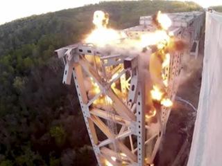 WATCH: Jeremiah Morrow Bridge implosion