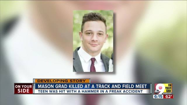 Mason High School graduate Ethan Roser killed in track and field…