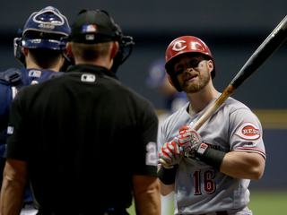 Brewers rout Reds 9-1