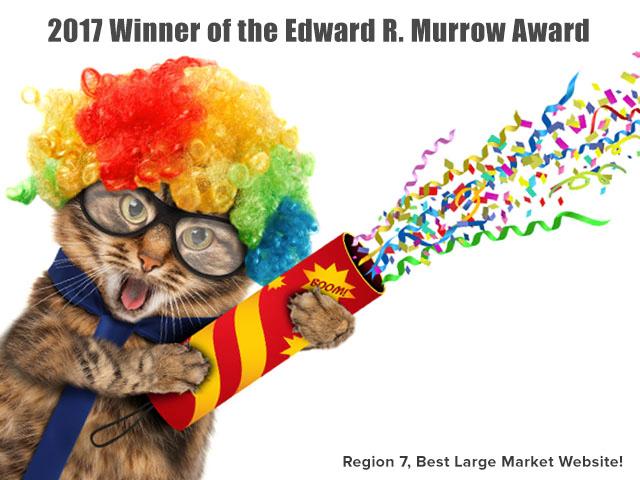 KBIA Wins 10 Regional Edward R. Murrow Awards