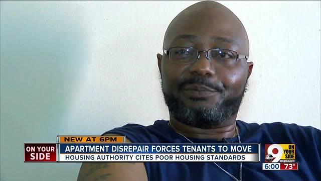 Apartment disrepair forces tenants out
