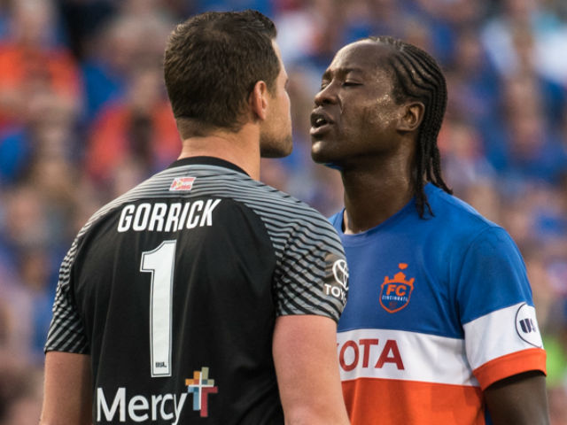 Are foes trying to rattle Djiby? That bites