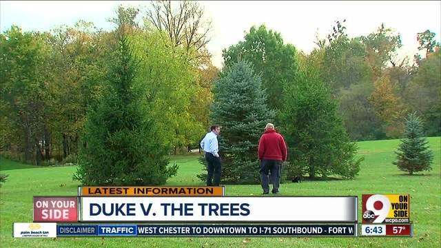 Duke wants to raze 26 trees- he-s not having it