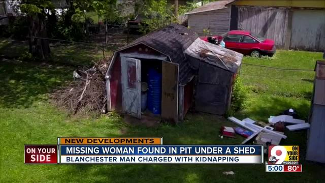 Neighbors shocked after missing Blanchester- Ohio woman rescued from pit…