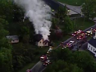House fire shuts down US 68 near Mt. Orab