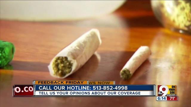Feedback Friday- In support of medical marijuana
