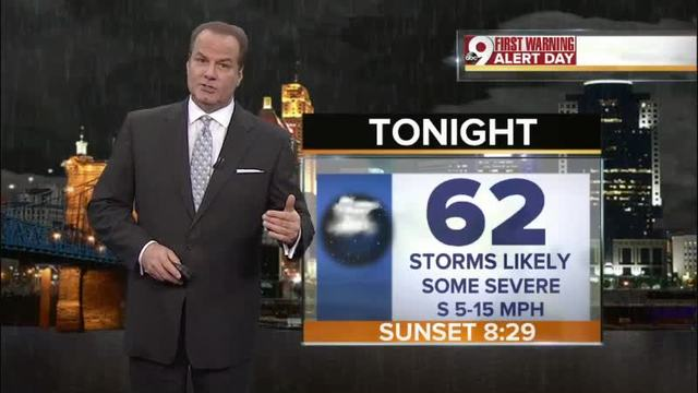 Your Friday evening forecast for April 28