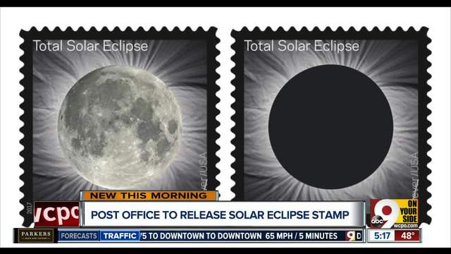 Total Eclipse of the Sun to be commemorated on a Forever Stamp