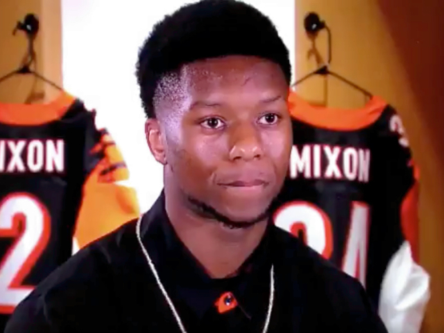 Controversial running back Mixon drafted by Bengals