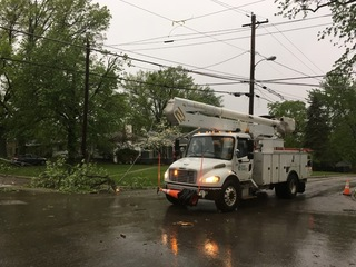 MAP: About 5,000 without power after storms