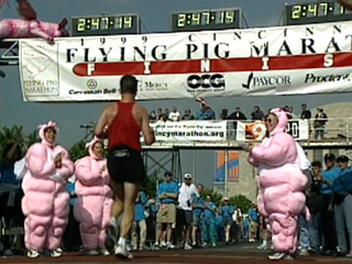 Sports Vault: Inaugural Flying Pig truly soared