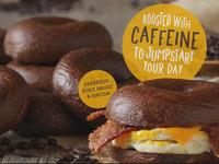 Einstein Bros. introduces caffeinated bagel