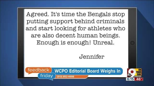 Feedback Friday- Should Cincinnati forgive Joe Mixon-