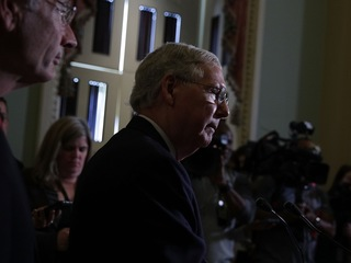 McConnell gets flak for all-male health group