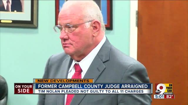 Former Campbell County judge Timothy Nolan indicted on charges of human…