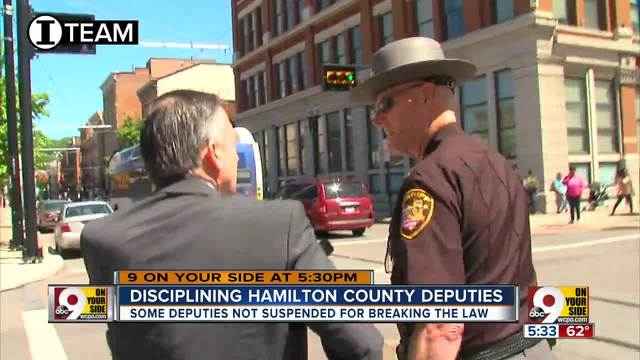 I-Team- Sheriff ducks questions about deputies- repeat OVI cases