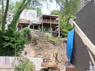 Developer faces ultimatum on fixing landslide