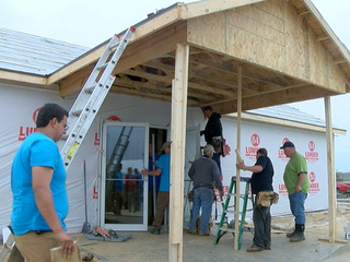 Watch these volunteers build church in 24 hours