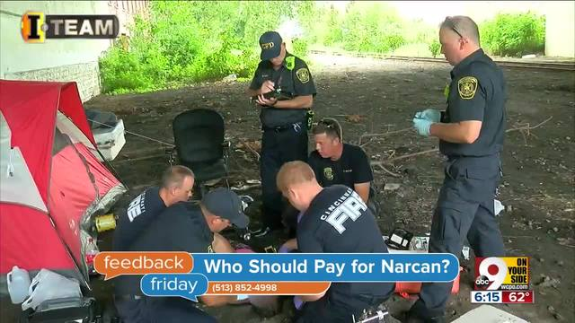 Feedback Friday- Who should pay for Narcan-