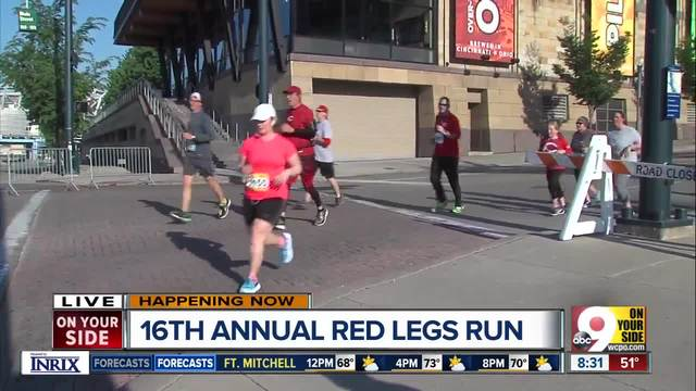 Thousands take part in 16th annual Redlegs Run for Reds Community Fund