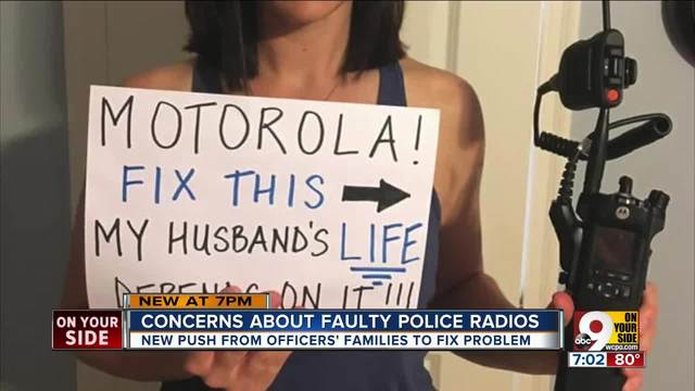 Concerns about faulty police radios
