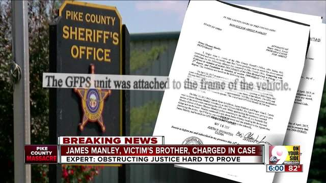 James Manley- brother of Pike County massacre victim charged with…
