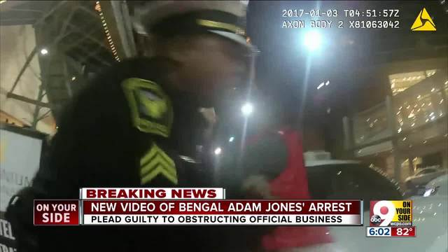 New video of Adam Jones- arrest in January