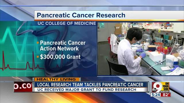 UC researchers developing antibody that could fight pancreatic cancer