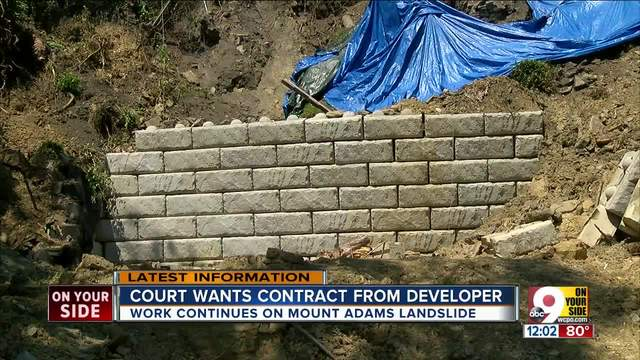 Developer back in court over Mount Adams landslide