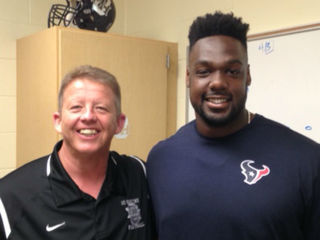 Mount Healthy's NFL hero returns for a visit