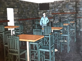 Kings students help design Monkey Bar & Grille