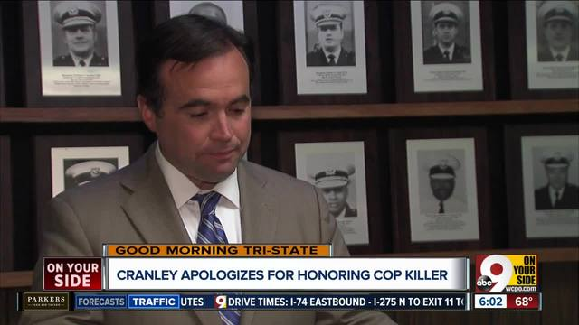 -Huge mistake-- Cranley apologizes to police after his office…