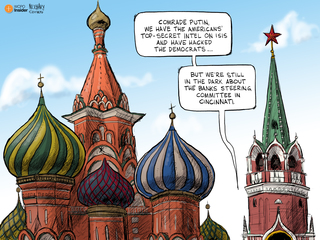 EDITORIAL CARTOON: In the dark at The Banks