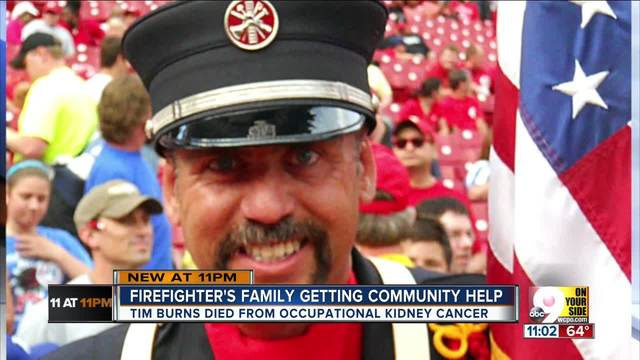 West Chester community raises money for sons of firefighter who lost his…