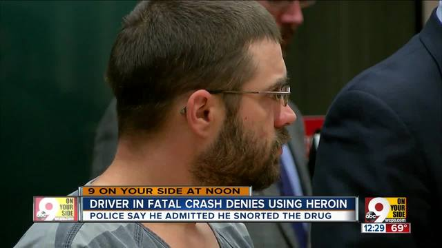 Driver accused of killing bicyclist in court