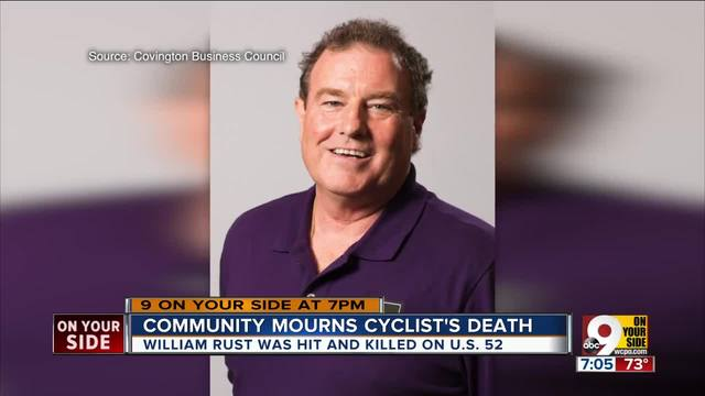 Community mourns cyclist-s death