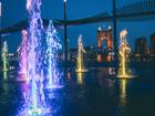 Cincygram: Smale Riverfront Park after dark