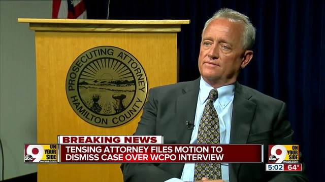 Ray Tensing-s attorney files motion to dismiss case over interview