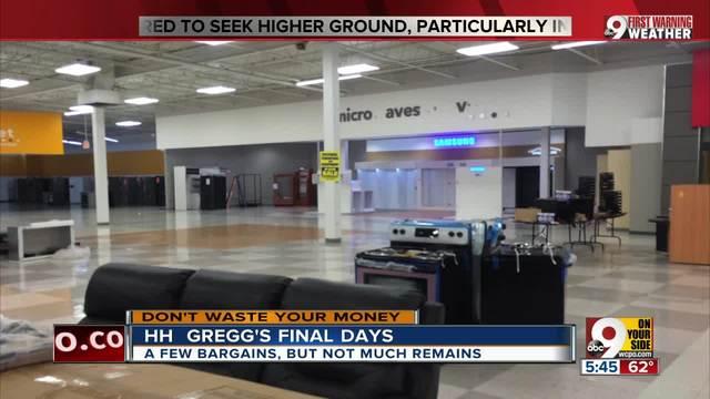 HH Gregg-s final days