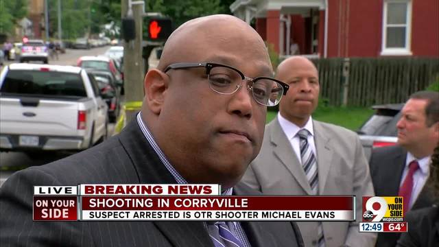 Police shoot man in Corryville after searching area for shooting suspect