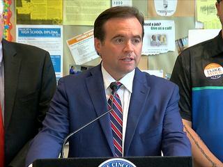 Mayor John Cranley unveils his budget proposal