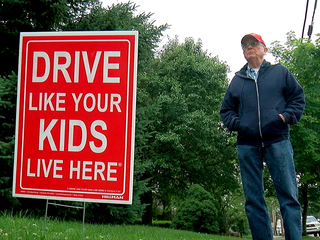 Norwood, 'drive like your kids live here'