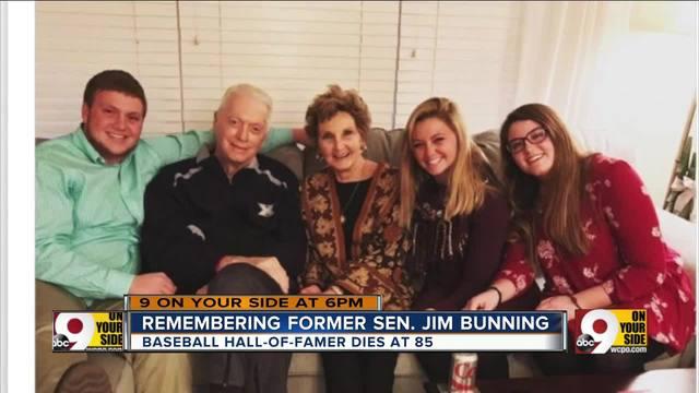 Jim Bunning- former U-S- senator- dies at 85