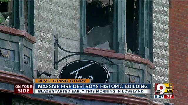 City manager- Loveland blaze started as electrical fire