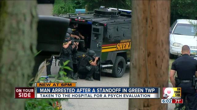 SWAT standoff- Man talked about -killing demons-