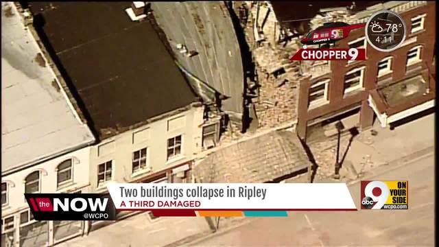 Collapsing Buildings Force Temporary Closure Of U S Route 52 Wcpo Cincinnati Oh