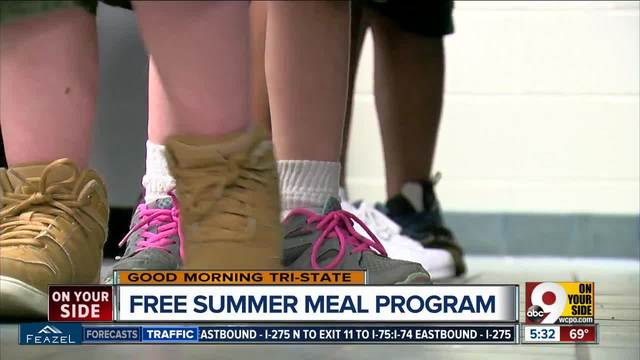 Summer meals program provides food for children in need