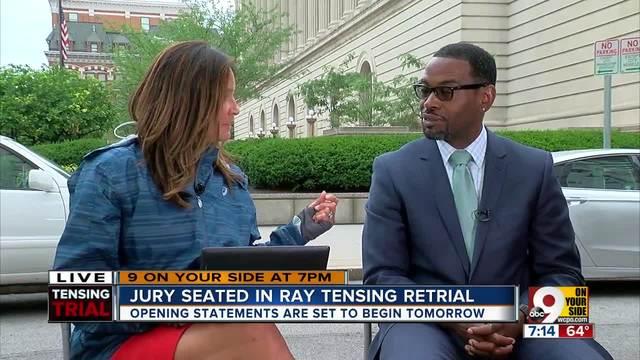 Jury seated in Ray Tensing retrial