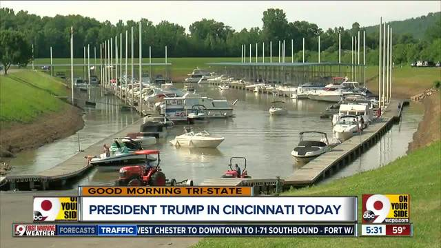 Public works projects on Trump's agenda for Ohio visit