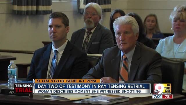 Day two of testimony in Ray Tensing retrial